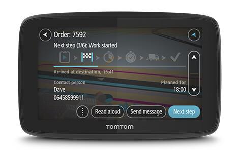 TomTom Pro 5350 Truck EU GPS | 5'' SatNav | Lifetime European Map | Tracking | WEBFLEET Thumbnail 4