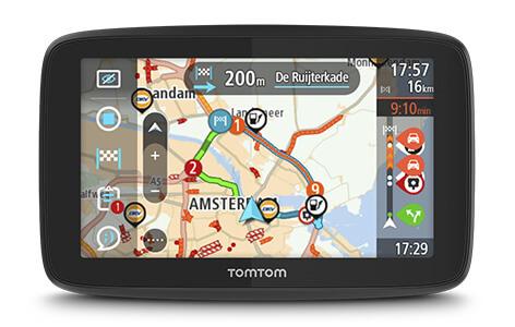 TomTom Pro 5350 Truck EU GPS | 5'' SatNav | Lifetime European Map | Tracking | WEBFLEET Thumbnail 6