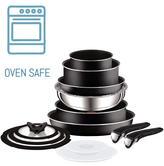 Tefal Ingenio 13 Piece Essential Non-stick Saucepan Set | Oven & Dishwasher Safe