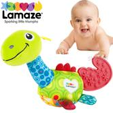 Lamaze Mini Dino Teether | Baby/Kid's Teething Toy | With Crinkle Sound From leg | +0 Months