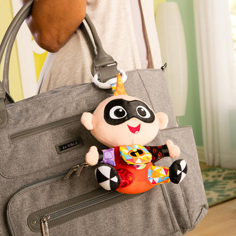 Lamaze Disney Incredibles 2 Clip & Go Jack   Attach To Pram/ Pushchair   With Sound   +0 Months Thumbnail 4
