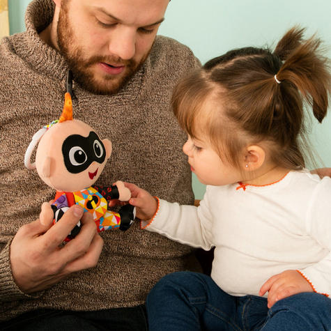 Lamaze Disney Incredibles 2 Clip & Go Jack   Attach To Pram/ Pushchair   With Sound   +0 Months Thumbnail 5