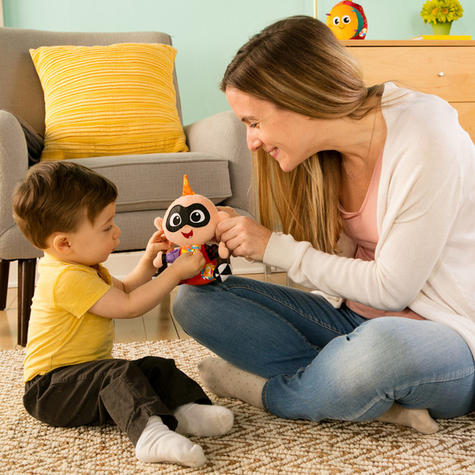 Lamaze Disney Incredibles 2 Clip & Go Jack   Attach To Pram/ Pushchair   With Sound   +0 Months Thumbnail 7