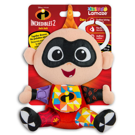 Lamaze Disney Incredibles 2 Clip & Go Jack   Attach To Pram/ Pushchair   With Sound   +0 Months Thumbnail 8