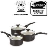 Prestige Create 3 Piece Cookware Set | Aluminium Saucepans | Non Stick Interior | NEW