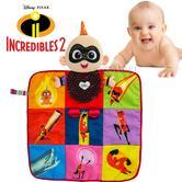 Lamaze Disney Incredibles 2 Jack Book Playmat | Baby/Kid's Tummy/Playtime Mat | +6 Months