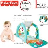 Fisher-Price 4 in 1 Ocean Centre Activity Centre | Baby/ Kid's Tummy/ Playtime Mat | +0 Months