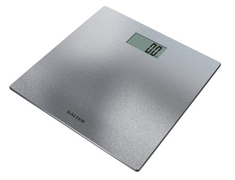 Salter 9046 Electronic Digital Bathroom Weigting Scales | Slimline Design | Silver Thumbnail 2