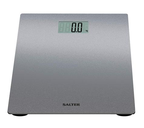 Salter 9046 Electronic Digital Bathroom Weigting Scales | Slimline Design | Silver Thumbnail 4