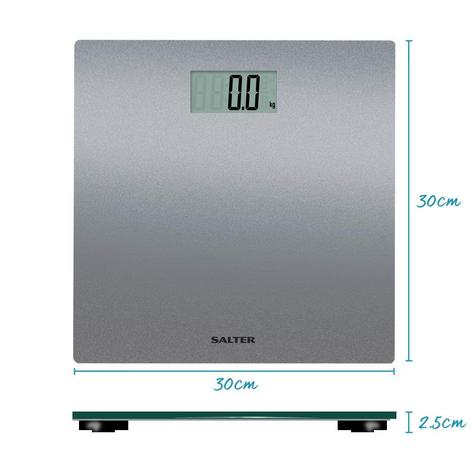 Salter 9046 Electronic Digital Bathroom Weigting Scales | Slimline Design | Silver Thumbnail 8