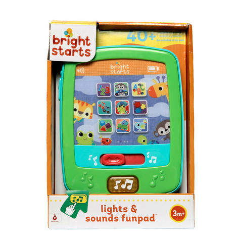 Bright Starts Colourful Lights & Silly Sounds FunPad | Kids Learning Activity Toy Thumbnail 5