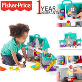 Fisher-Price Little People Home | Kid's Learning Activity PlayToy | With Light+Music | +12 Months