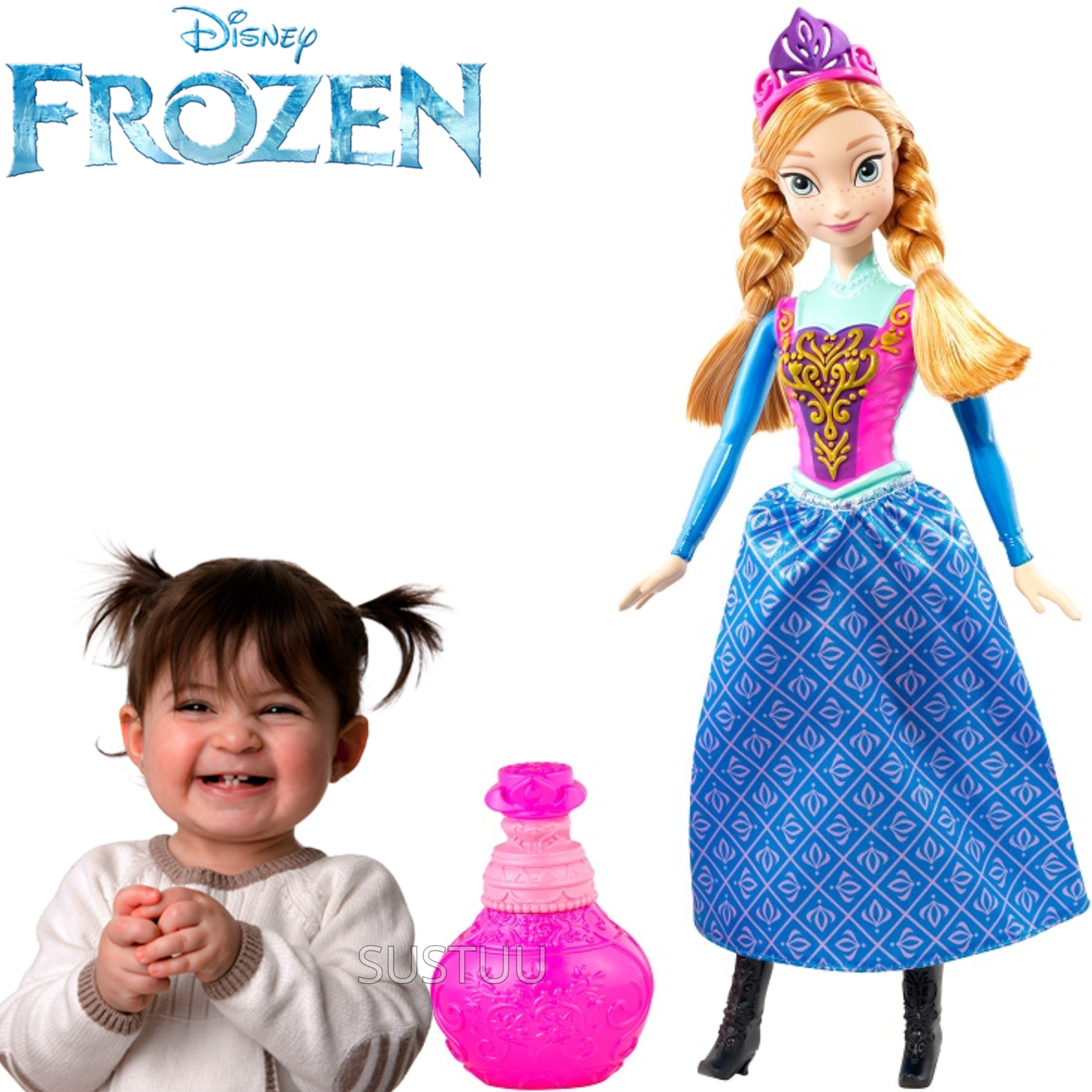Disney Frozen Royal Colour Changing Doll Anna | Girls Favourite Princess | 3 Years+