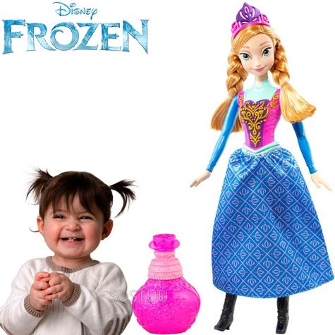 Disney Frozen Royal Colour Changing Doll Anna | Girls Favourite Princess | 3 Years+ Thumbnail 1