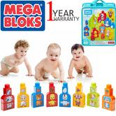 Mega Bloks Build & Match Animals 40pc Bag | Building Bloks | Preschool Learning Toy | +12 Months