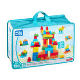 Mega Bloks Deluxe Builders 150pc Bag | Building Bloks | Preschool Toy | Stack & Learn | +12 Months