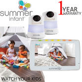 """Summer Infant Wide View Duo 5"""" Monitor (Dual Cam) 
