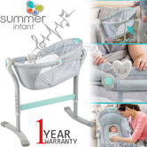 Summer Infant By Your Bed Sleeper | Baby's Craddle/Cot/Swing With Music+Nightlight