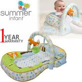 Summer Infant Laid Back Lounger 3 In 1 | Kids TummyTime Playmat/Gym With Fun Toys