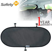 Safety 1st Rearview Sunshade | Protection Of Kid From Sunrays/Heat | Fit Most Cars