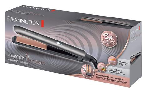 Remington Keratin Protect Intelligent Hair Straightener | Heat Protection Sensor Thumbnail 5