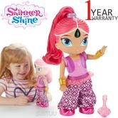 Shimmer and Shine Genie Dance Shimmer 30cm | Baby's Dancing Doll | With Light+Music | +3 Years