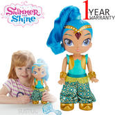 Shimmer and Shine Genie Dance Shine 30cm | Baby's Dancing Doll | With Light + Music | +3 Years