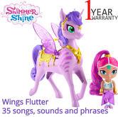 Shimmer and Shine Zahracorn Set - Shimmer & Zahora | Baby's Fun Activity Playset | +3 Years