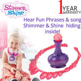 Shimmer and Shine Wish Wear Necklace | With Phrases & song | Shimmer & Shine inside | +3 Years