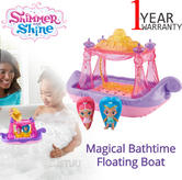 Shimmer and Shine Swing and Splash Genie Boat | Baby's Floating  Bath Toy | +3 Years