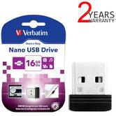 Verbatim 32GB Store n Stay Nano USB 2.0 Flash Stick | Pen Memory Drive | 98130 | Black