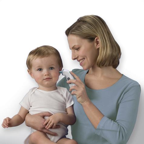 Braun ThermoScan 3 Ear Thermometer | Memory Recall | Large LCD Screen | Baby & Adults Thumbnail 5