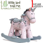 Little Bird Told Me | Infant/ Baby Celeste & Fae Rocker | Kid's Unicorn Riding Toy