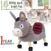 Little Bird Told Me | Bojangles - Childs Fun & Friendly Ride On | With Soft Fabrics
