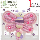 Little Bird Told Me | Kids Billowy Butterfly Musical Twinkles Cot Toy With Lights