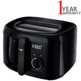 Russell Hobbs Deep Maxi Fryer 2.5L | 4 Portions | Adjustable Thermostat | 1800W | Black
