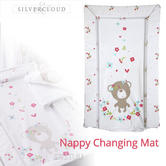 Silvercloud Sweet Dreams Changing Mat | Waterproof? | Easy To Wipe Clean | Unisex | +0m
