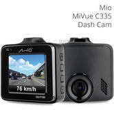 Mio Mivue C335 2'' Car Dash Cam | 1080p Full HD 30 fps | GPS Tracking | 3Axis G-Sensor