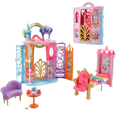 Barbie Fairy Room | Baby/Kid's Learning Activity Playset | Realistic | Giftware | +3Yrs. Thumbnail 2