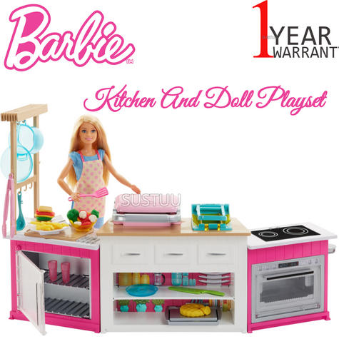 Barbie Ultimate Baking Innovation | Baby's Kitchen & Doll Toy Playset | Realistic | +3 Year Thumbnail 1