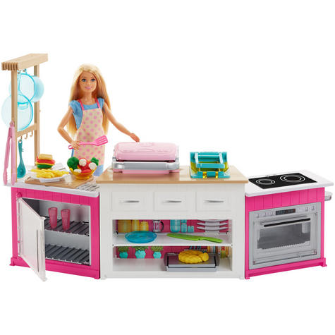 Barbie Ultimate Baking Innovation | Baby's Kitchen & Doll Toy Playset | Realistic | +3 Year Thumbnail 2