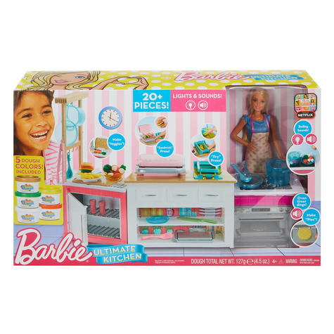 Barbie Ultimate Baking Innovation | Baby's Kitchen & Doll Toy Playset | Realistic | +3 Year Thumbnail 4