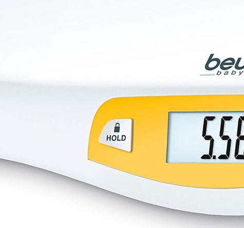 Beurer Baby Weighing Curved Scale | Digital LCD Display | Hold & Tare Function | BY80 Thumbnail 8