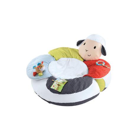 ELC Blossom Farm Lily Lamb Sit Me Up Cosy   Kids Soft Tummy Time Play Mat   x3 Toys Thumbnail 3