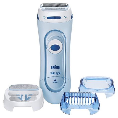 Braun Silk Epil Wet & Dry Electric Lady Shaver | Womens Legs & Body | 3 Attachments Thumbnail 2