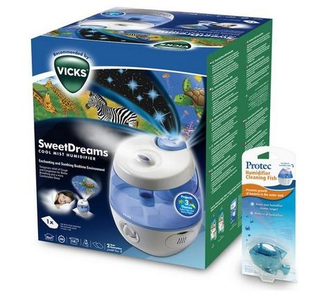 Vicks Sweet Dreams Cool Mist Humidifier with Image Projector 2 in 1 | Safe & Quiet Thumbnail 7
