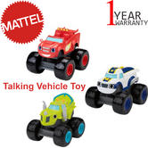 Blaze and the Monster Machines Talking Assortment | Kid's Vehicle Toy | With Sound | +3 Years