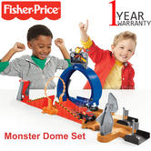 Blaze and the Monster Machines Monster Dome Set | Kid's Blaze + Crusher Racing Toy | +3 Years