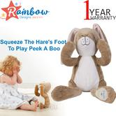 Guess How Much I Love You Peekaboo Hare | Baby/Kid's Soft Plush Fun Activity Toy | +0 Months