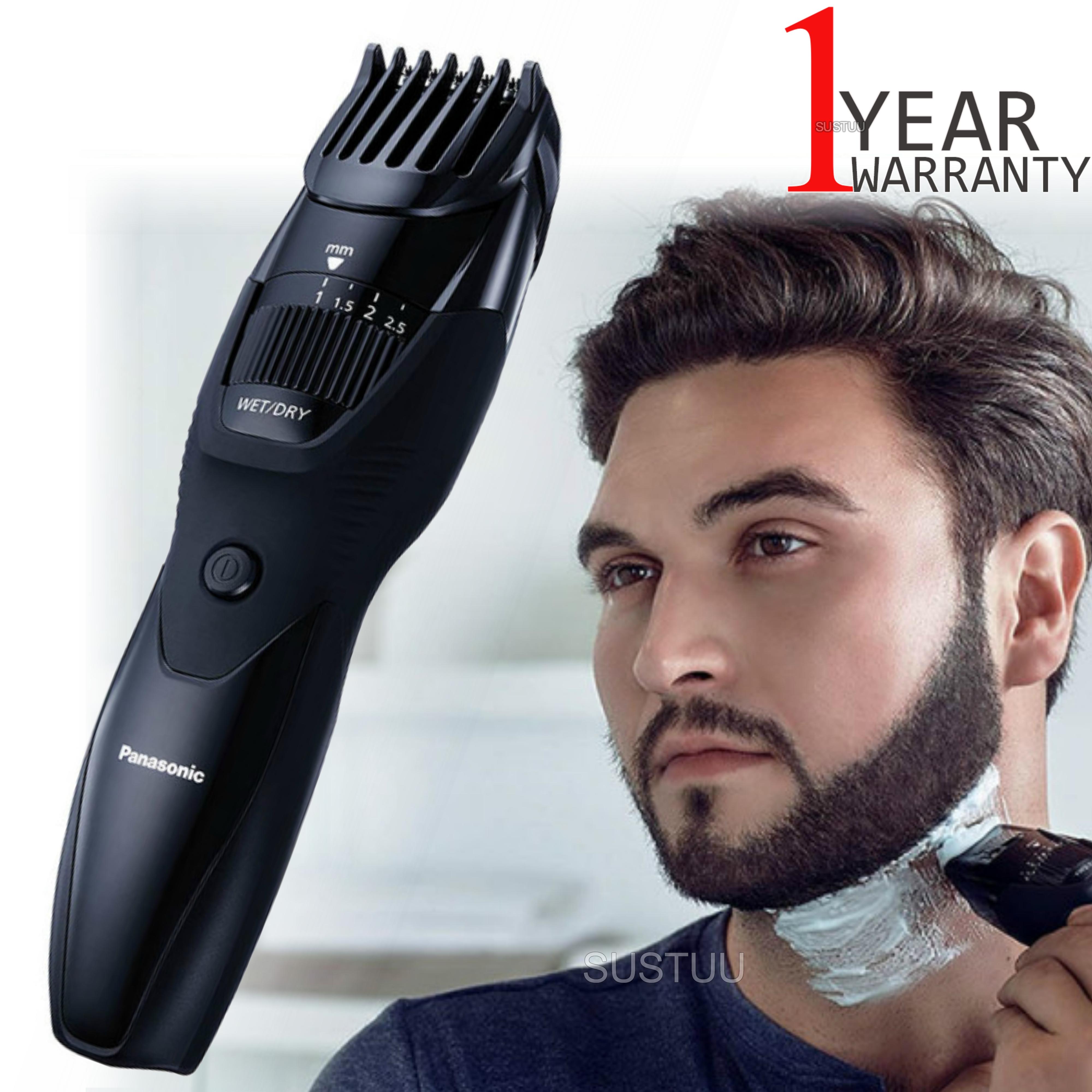 Panasonic ERGB42K Men's Hair-Beard-Moustache Trimmer | Rechargeable | Cordless | Black